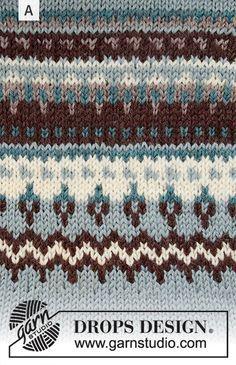 Crochet Baby Shawl Pattern Drops Design 19 Ideas For 2019 Fair Isle Knitting Patterns, Sweater Knitting Patterns, Knitting Designs, Knit Patterns, Free Knitting, Knitting Projects, Baby Knitting, Finger Knitting, Knitting Tutorials