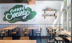 Honor Society restaurant interior design