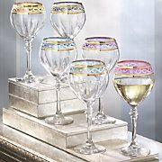 Just lovely wine glasses.