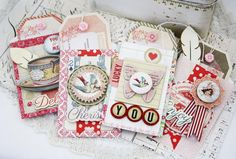 Delight Gift Tags and Bags by lilybeanpaperie on Etsy, $25.00