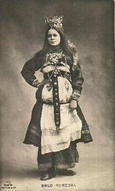 Magnhild Kennedy: Bijoux Norvégienne    Norsk brud | Norwegian bride
