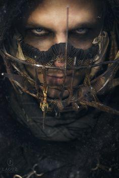 Mordax Mordax, with Siroj's Tenebris by Laguz photography -Wasteland Warriors-