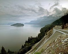 Sea to Sky Highway by Christopher M., via Flickr