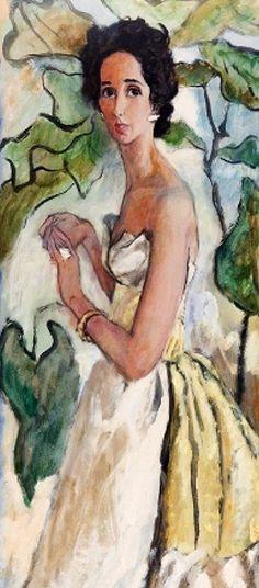 Mrs Drexel ~ By René Bouché
