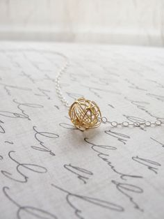 Tangle Ball Necklace - Olive Yew - Designer Spotlight Uncovet