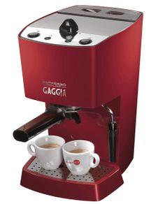 Gaggia Espresso Pure Red @ http://www.de-brewerz.com/
