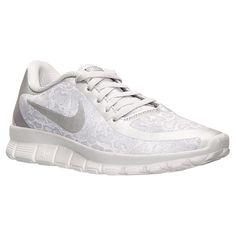 9d8089bd87490 Women s Nike Free 5.0 V4 Print Running Shoes - 695168 102