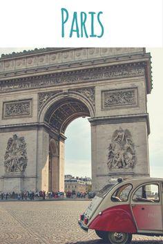 Arc de Triomphe - Triumphbogen / Artikel im Reiseblog: Paris - Geheimtipps einer Einheimischen