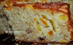 Mango Cake  with Fresh Mango chunks and Pecan nuts