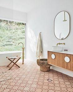 Decor Inspiration, Bathroom Inspiration, Bathroom Inspo, Furniture Inspiration, Bathroom Ideas, Shower Ideas, Decor Ideas, Vintage Modern, Modern Bathroom Design