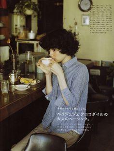 hakanai. Mori Girl, Tomboy, Jun Liu, Short Girls, Life Is Beautiful, Foto Pose, Pretty People, Coffee Break, Coffee Cup