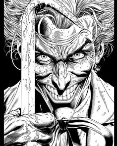3 Jokers, Three Jokers, Joker Comic, Joker Art, Arte Dc Comics, Batman Comics, Dc Comic Books, Comic Art, Batman Artwork