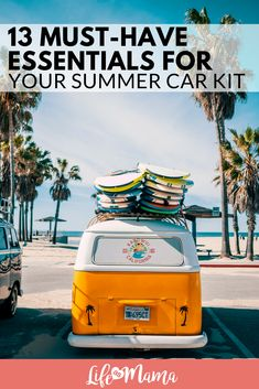 13 Must-Have Essentials For Your Summer Car Kit #summer #summercarkit #carkit #summeressentials