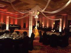 See how lighting can transform a room! #WeddingLighting #ChicagoWeddings www.camillevictoriaweddings.com Victoria Wedding, Chicago Wedding, Wedding Planning, Chandelier, Ceiling Lights, Weddings, Lighting, Room, Home Decor