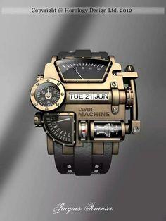 Steampunk concept design watch #WristWatches #menswatchesexpensive