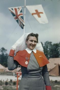 QAIMNS in France Women at War 1939-1945 TR2162 Malindine E G (Capt), No 5 Army Film and Photographic Unit --Imperial War Museum
