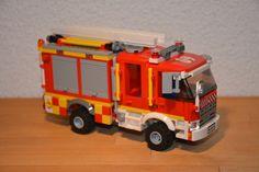 https://flic.kr/p/QGPXCX | Lego City 4x4 Fire Engine 09, Fire Service Israel, Tel Aviv
