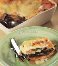 olasz olasz Vegetáriánus lasagne