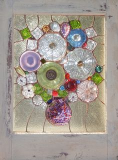 Do it yourself diy ideas pinterest glass dishes repurposed a short note i have been told by many of my customers that see my artwork at art shows that the snapshots depicted here do not do them justice solutioingenieria Gallery