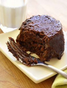 Two-minute Chocolate PB Cake/Did a chocolate-peanut butter craving hit you (or your little one) fast? Whip up this delicious cake to satisfy that sweet tooth in a jiffy.