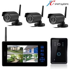 222.00$  Watch here - http://alikzk.worldwells.pw/go.php?t=32780258194 - Wireless surveillance camera work with video door phone video intercom system  222.00$