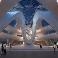 Arch2O Changsha Meixihu International Culture Art Centre Zaha Hadid Architects-7