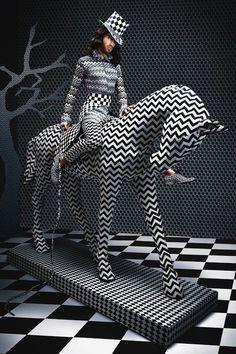 Un colorido calendario recoge las tendencias de la moda del 2014 #Creatividad #Diseño #Diseño de modas #Inspiración #Noticias #destacadas #Tendencias