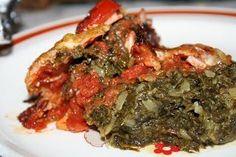 Spanac gratinat, Rețetă Petitchef Unt, Cheddar, Spinach, Bacon, Pork, Kale Stir Fry, Cheddar Cheese, Pork Chops, Pork Belly