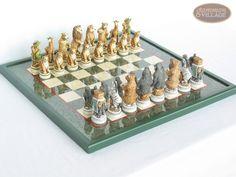 Animal chess board