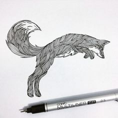 São Paulo, Brazil-based illustrator Thiago Bianchini pays tribute to the beauty of nature in his striking drawings of wildlife and landscapes framed within larger animal silhouettes. Using fine-tipped ink pens, Bianchini brings flora and fauna to life through intricate drawing and shading techniques like stippling. Pitch-black trees, grass, and four-legged creatures contrast sharply with craggy mountains and inky skies formed of thousands of tiny dots. Illuminated under the glow of the pale…