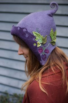woman's hood  fairy hat made to order von lalabugdesigns auf Etsy