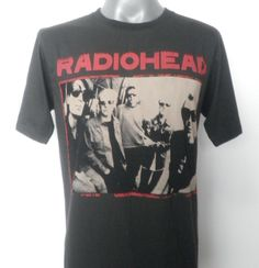 RADIOHEAD  Rock Music Tshirt  (shawn)
