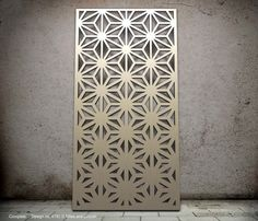 Miles and Lincoln - the UK's leading designer of laser cut screens for decorative interior panels, external architectural cladding, balustrades and ceilings An ombré design Laser Cut Screens, Laser Cut Panels, Laser Cut Metal, Metal Panels, Laser Cutting, Stone Panels, Decorative Metal Screen, Divider Screen, Grill Design