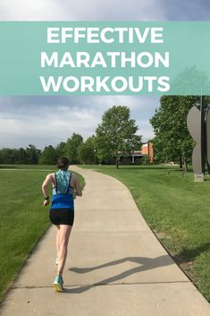 Training for Be ready for the specific demands of the race with these four effective marathon workouts for intermediate to experienced runners. Track Workout, Hard Workout, Running Workouts, Running Tips, Easy Workouts, Marathon Gear, First Marathon, Marathon Running, Training Plan