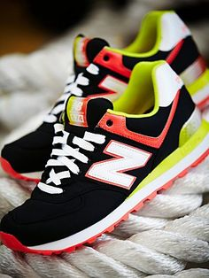 Still all about the old school New Balance's though!!