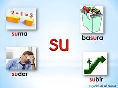 # 4 Sílabas sa se si so su - Syllables with S Bilingual Education, Dual Language, K 1, Syllable, Educational Videos, Kindergarten, Spanish, Teacher, Youtube