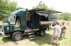 Landrover camper conversion