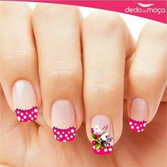 35 Incredible Red Nail Art Design for Summer Whatever style you select, you're bound to wind up with fabulous red nail designs.The trend of red nails 2019 might […] Red Nail Art, Cute Nail Art, Red Nails, Cute Nails, Pretty Nails, Hair And Nails, Black Nail, Red Black, Spring Nail Art