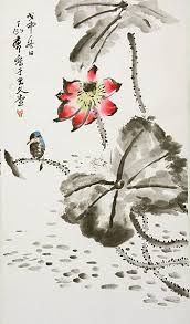 Image result for chinese painting of lotus