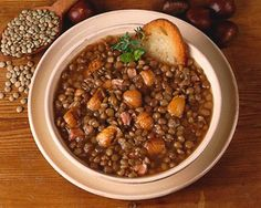 Italy - Lazio - Zuppa di lenticchie dell'Isola di Ventotene (Latina)