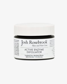 This Josh Rosebrook Active Enzyme Exfoliator is gentle and effective.