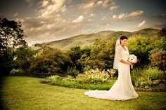 pretty carolina mountain bride!