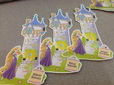 Rapunzel invitations