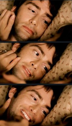 David Tennant in Blackpool. Imagine waking up next to that beautiful face :)