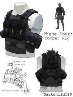 Gray 1 redesign: Phase Four by darkchild130 on DeviantArt