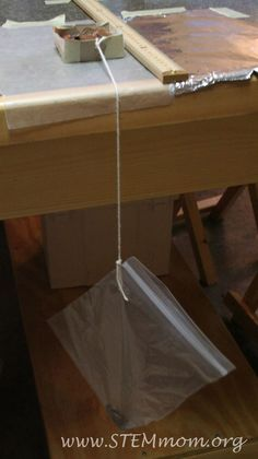 Sample apparatus to simply measure friction | STEMmom.org