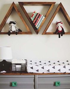 Decoração: Triangle shelf | Just Lia