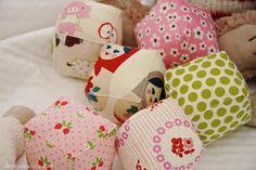 Baby shower gift or make to coordinate my nursery: DIY handmade baby blocks