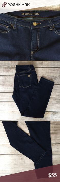 """Michael Kors Skinny Jeans Skinny leg. 9"""" rise. 28"""" inseam. Excellent condition 🚫NO TRADES/NO MODELING🚫✅BUNDLE TO SAVE✅ Michael Kors Jeans Skinny"""