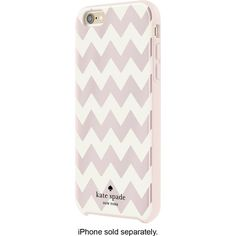 kate spade new york - Hybrid Hard Shell Case for Apple® iPhone® 6 Plus and 6s Plus - Blush Foil/Cream/Blush - Front Zoom